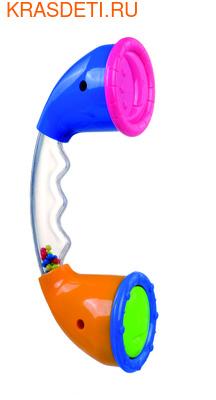 Погремушка телефон Canpol 0м+, арт. 2/886 цвет синий