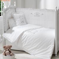 Постельное бельё Funnababy Lovely Bear White 120x60 5 предметов