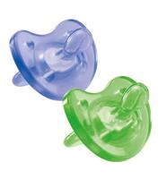 CHICCO Пустышка силиконовая Physio Soft 0-6, 6-12, 12+