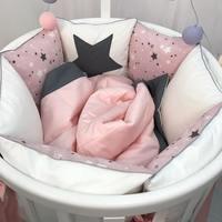 Marele Комплект постельного белья Космический розовый