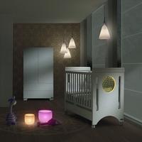 Micuna Кроватка 120x60 Micuna Baby Balance Relax с LED-подсветкой