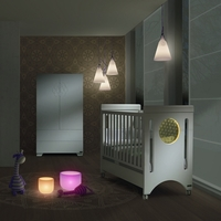 Кроватка 120x60 Micuna Baby Balance Relax с LED-подсветкой