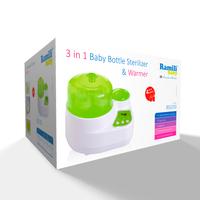 Ramili Стерилизатор-подогреватель бутылочек и детского питания 3 в 1
