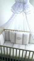 EcoLine Fabric Набор в кроватку Annet. цвет отделки серый, 9пр.
