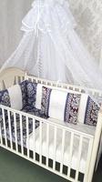 Eco-Line Набор в кроватку Felice. цвет отделки Blue, 9пр.