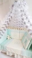 Eco-Line Набор в кроватку для новорожденных Areseli