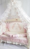 Eco-Line Набор в кроватку для новорожденных Angelica. 10 пр.