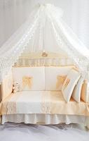 Eco-Line Набор в кроватку для новорожденных Madrid light