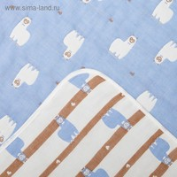 Одеяло лёгкое Крошка Я Лама 105*105 см