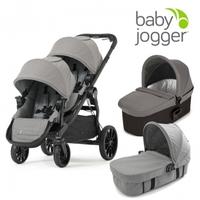 Baby Jogger Коляска CITY SELECT LUX Набор 3 (для двойни)