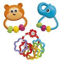 Chicco Набор игрушек-погремушек Baby Senses 3+