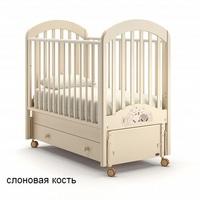 Nuovita Детская кровать Grano swing продольный