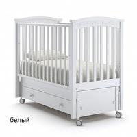 Nuovita Детская кровать Perla solo swing продольный