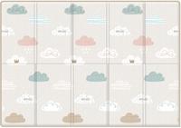 "Складной коврик Parklon Sillky Portable ""Облачка"", 140x200x1.0 см"