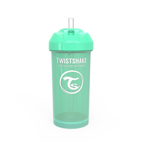Поильник с трубочкой Twistshake (Straw Cup) 360 мл. 12мес+